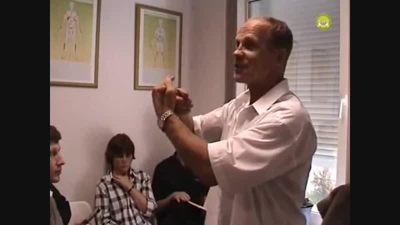 Хиропрактика - исцеление руками, 2 часть - жёлчный пузырь