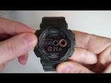 Обзор и настройка Casio G-Shock GD-100MS-3E (Review and setting)