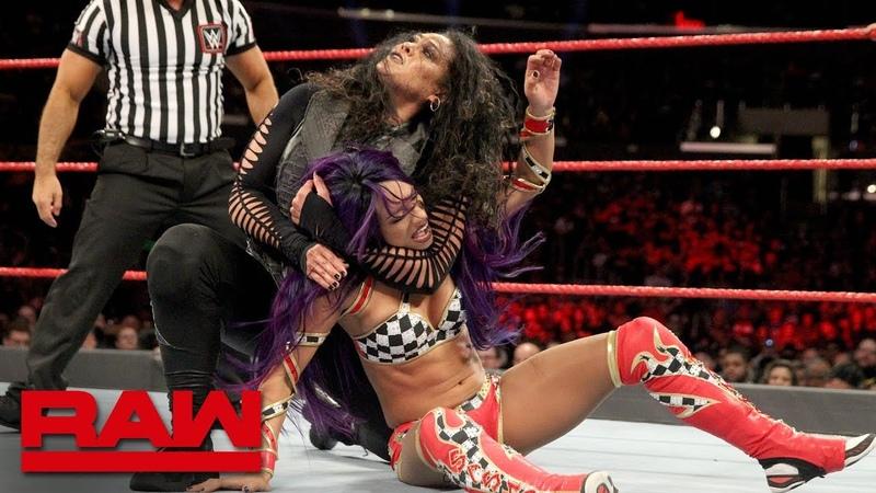 SBMKV_Video | Sasha Banks Bayley vs. Nia Jax Tamina: Raw, Nov. 19, 2018