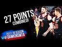 Kevin Love &  Kyle Korver 27 Pts ECR1 Game 2 Cleveland Cavaliers vs Indiana Pacers | FreeDawkins