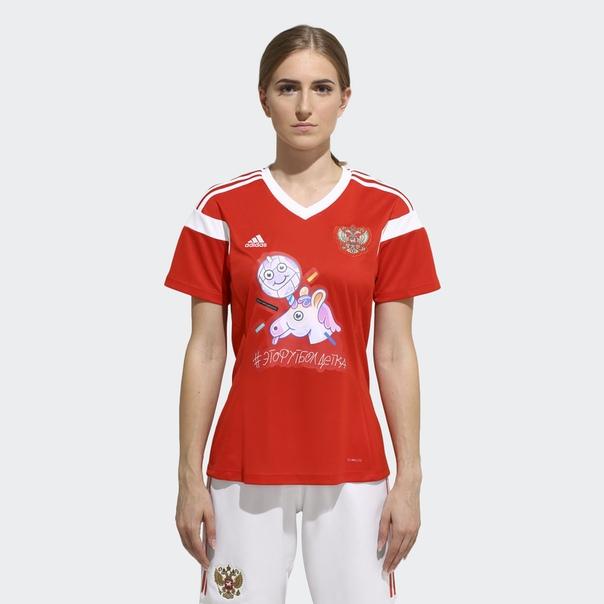 Футболка Unicorn by adidas x Ирина Горбачева