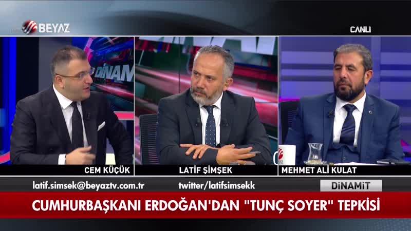 Cem Küçükten CHPye ağır eleştiri 12 Eylül savcısına niye sahip çıkıyorsun