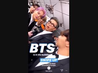 [VIDEO] BTS at the Grammy 2019 Billboard's Instagram Stories