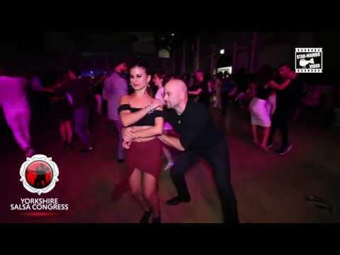 Dj Sezar Duran Myrto - social dancing @ Yorkshire Salsa Congress 2017