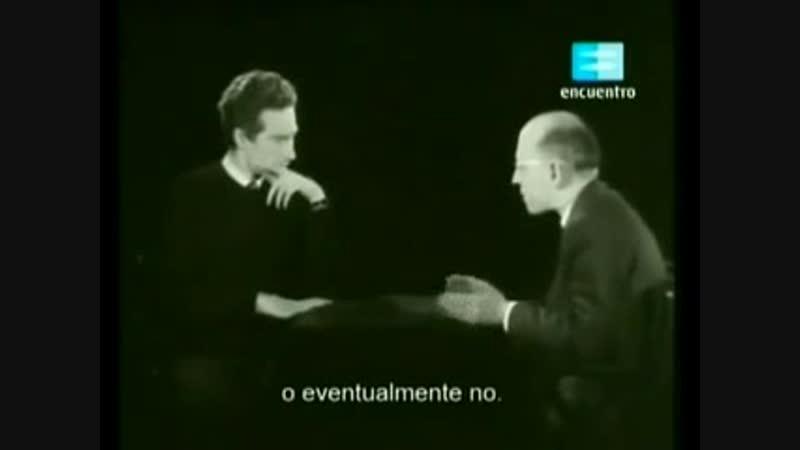 Alain Badiou interviews Michel Foucault [1965]