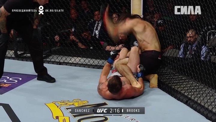 СВЕЖЕЕ : UFC 228 , Джарред Брукс - Роберто Санчес