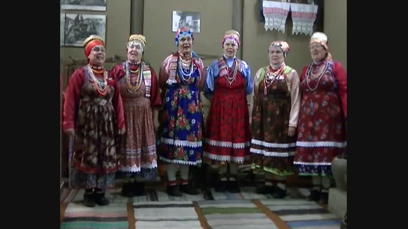 Фольклорный коллектив Музейная мозаика Варварушка