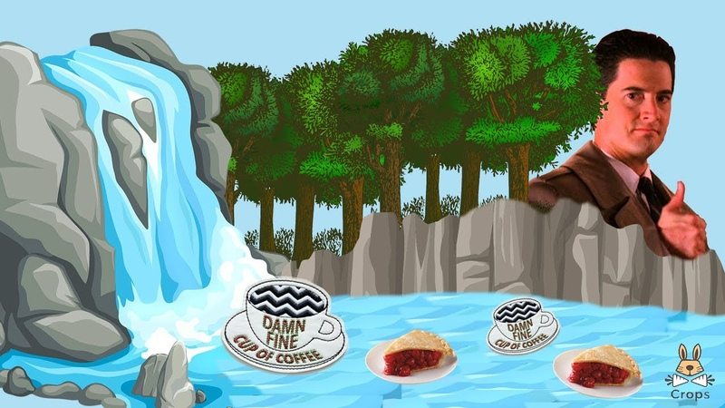 Твин Пикс водопад волшебный лес и чертовский вкусный кофе