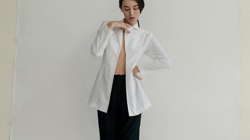 A Moment Vintage | Lookbook backstage | Slow fashion shopping | Elegant white blazer preview BTS