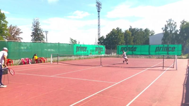 Тренер с Сергеем всегда на одной волне! Теннис-FM💪😎🎾