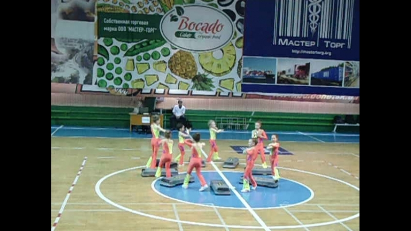 Чемпионат первенства г Донецка по спортивной аэробике 24 05 2018