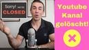 Mein Youtube Kanal wurde gesperrt 3 Tricks zum entsperren