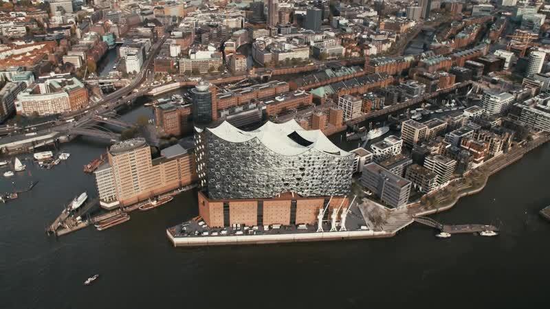 Эльбфилармони́ в Гамбурге. Арх. бюро «Херцог и де Мёрон» -- 2007--2017
