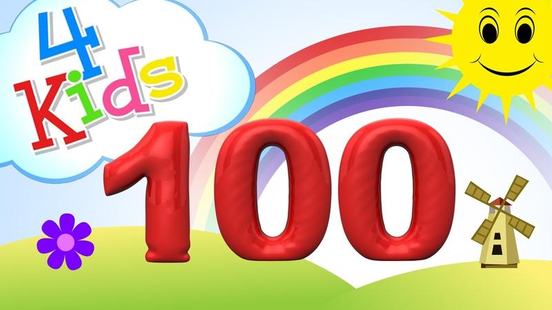 Zahlen lernen für Kinder zählen von 91 bis 100 deutsch