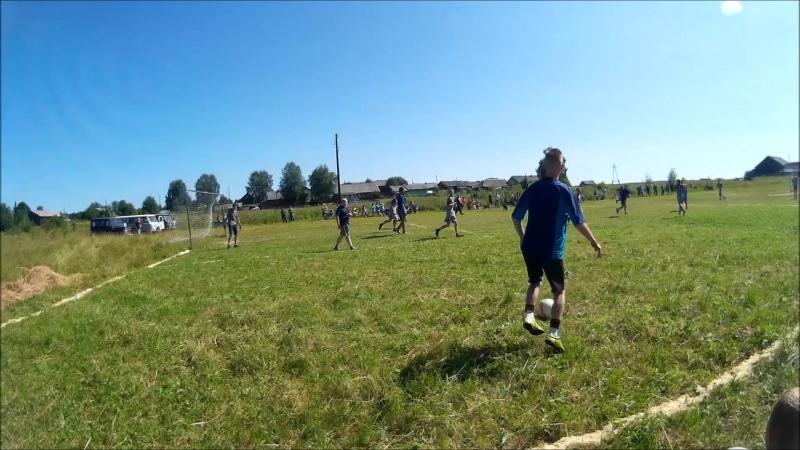 Футбол Нижняя Тойма - Авнюга 2-й период