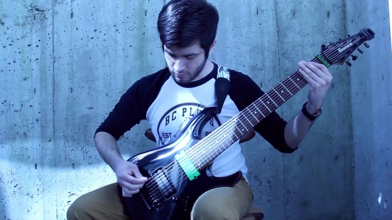 Dj Snake Lil Jon - Turn Down For What - DJENT _ METALCORE Cover - Andrew Baena