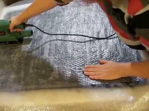 Валяем шарф- снуд, мастер класс по мокрому валянию