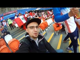 World cup 2018 vlog 02_ peru-denmark, saransk stadium atmosphere and match exper