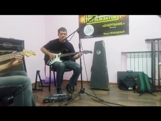 Рок группа СлиМ. Репетиция к ЕдиноРоКу
