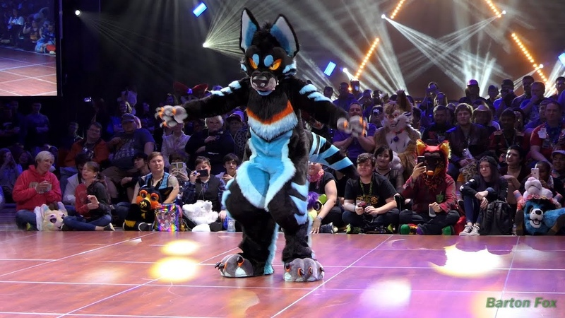 Furry Weekend Atlanta 2018 - Dance Competition - Raze