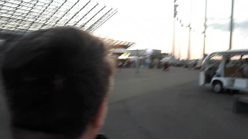 Олимпийский Парк в Сочи. 14.08.2018г. Поездка на электротрицикле. Часть 1