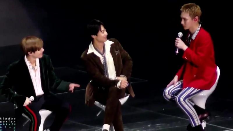 """180901 """"SHINee Special Party - The Shining"""" 2min Taemin Minho"""