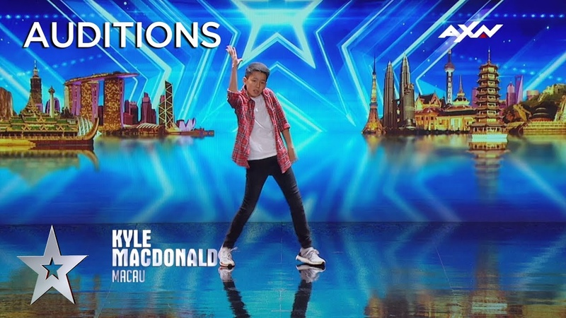 Heartthrob Kyle Macdonald Stole The Judges' Hearts With His Groove | AXN Asia's Got Talent 2019