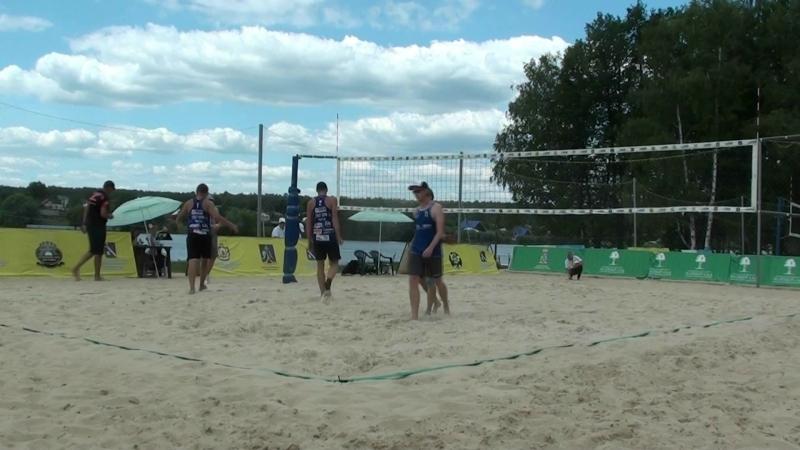 Beach volley Russia Syntuli 2018 M Quarterfinal 1 Veretyuk-Shekunov and Safonov-Andrianov
