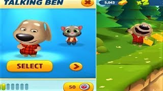 Talking Tom Gold Run Las Vegas BEN and BEN Run Backward