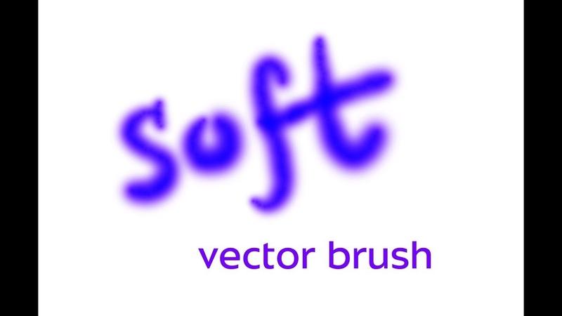 Soft brush in Illustrator