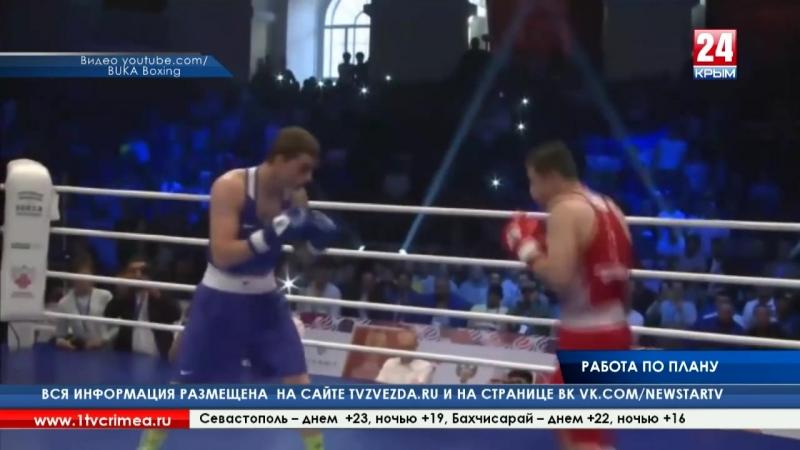 Крымский боксер Глеб Бакши завоевал серебряную медаль международного турнира в Санкт-Петербурге