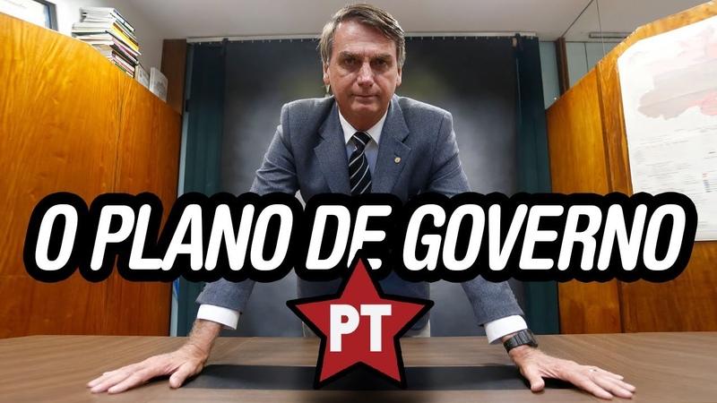 Bolsonaro Lendo e Detonando o Plano de Governo Haddad e Fazendo Alertas - 11/10