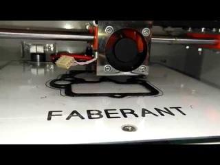 Изготовление прокладки карбюратора на 3D-принтере Faberant Cube