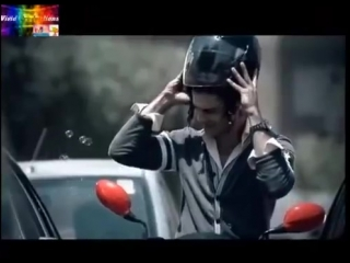 BarunSobti had shown up in promotion video of motorcycle Hero Honda Passion 2010