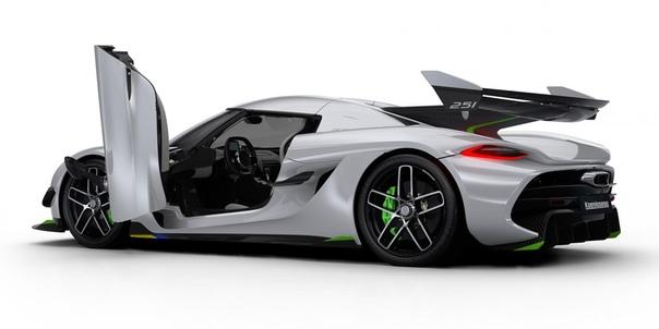 Подробнее : Мегакар oenigsegg Jeso: 1600 лошадей и шесть сцеплений