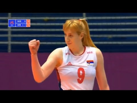 Serbia v Germany — Full Highlights | 2018 Volleyball Nations League Women's