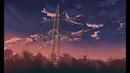 Hướng dẫn vẽ Anime background - Power poles Anime background style Makoto Shinkai in Photoshop