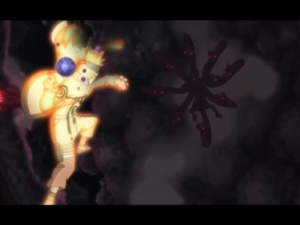 Naruto vs Chikara   Nine Tails Clone (English sub)