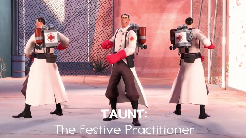 [SFM] The Festive Practitioner (Taunt).mp4