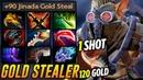 Tigger Bounty Hunter Overfarmed GOLD STEALER Dota 2