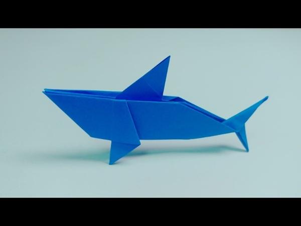 상어 종이접기, 鲨鱼折纸, Shark origami(Yukihiko Matsuno)