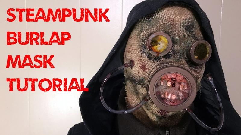 Www.monstertutorials.com - Steampunk Post-apocalyptic Burlap Mask Tutorial