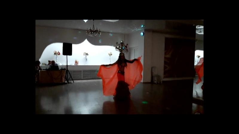 восточный танец с канделябром Юлия Аймани г. Астрахань
