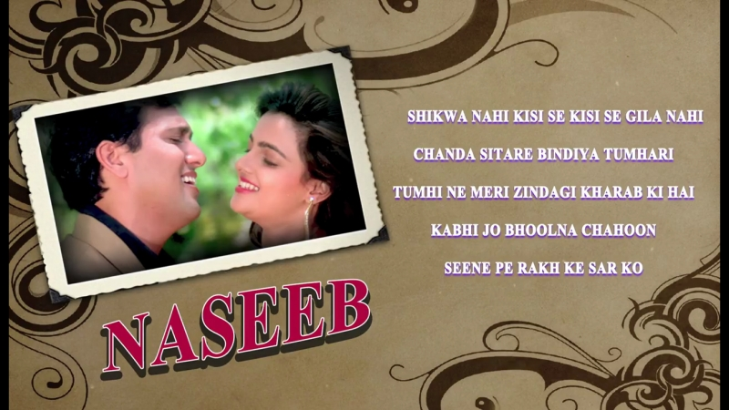 Naseeb 1997 _ Full Video Songs _ Govinda, Mamta Kulkarni, Rahul Roy
