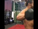 Justice League_ Jason Momoa getting pumped up in