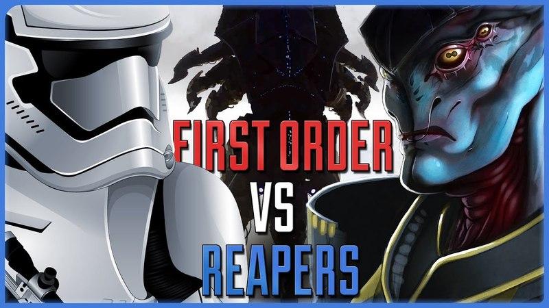 Трейлер. Первый Орден против Жнецов. Star Wars vs Mass Effect   Противостояние