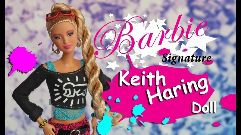Barbie Keith Haring Doll Review BRAND NEW Barbie Signature Keith Haring Doll Unboxing and Review