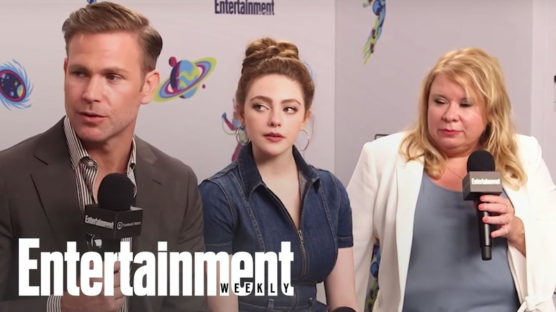 'Legacies': The Cast Dishes On Potential Guest Appearances | SDCC 2018 | Entertainment Weekly