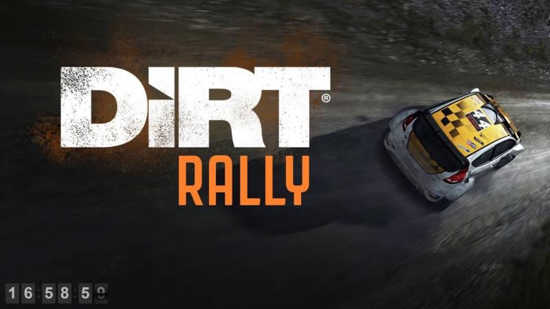 LIVE DiRT Rally Насколько меня хватит Карьера Logitech g27 в кокпите