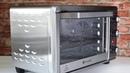 Конвекционная печь GEMLUX GL-OR-1320MN / Обзор настольной мини-печи для дачи, малогабаритной кухни